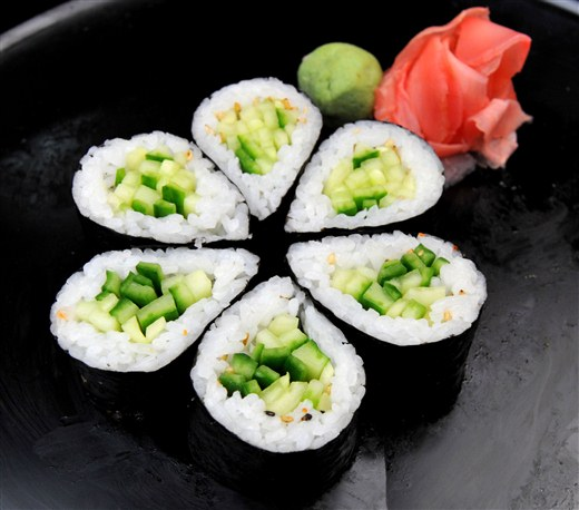 Avacado Cucumber Roll - MIO Japanese and Thai Fusion (Closed- currently Chinese Northern Flavour Restaurant)