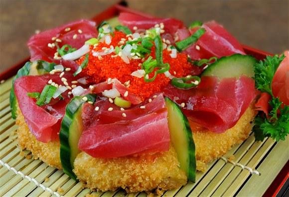 Sushi Gen Pizza (6pcs)- Tuna - Sushi Gen