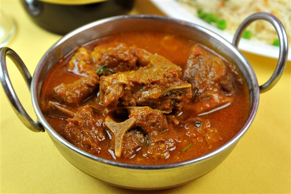 Lamb, Beef or Goat Curry