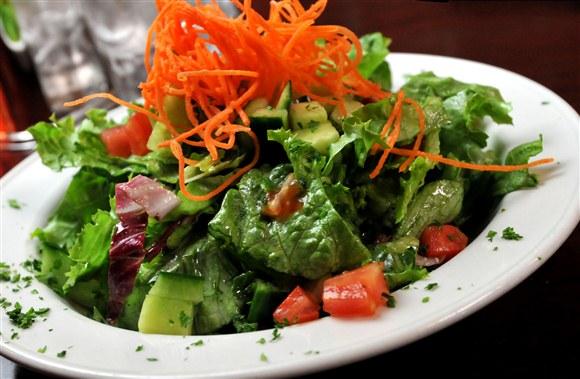 Julienne Salad - Green Eggplant Restaurant
