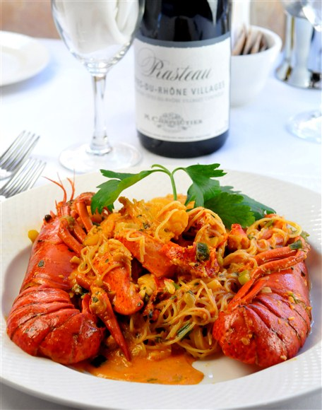 Lobster with Angel Hair Pasta - Frascati