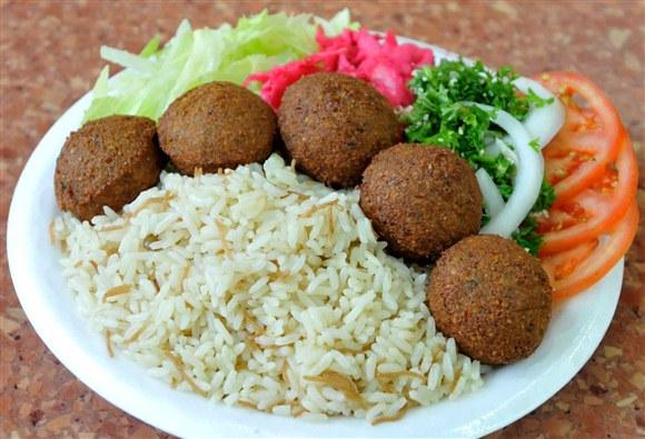 Falafel Platter - Ali Baba's