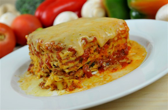 Beef Lasagna - The Big Slice