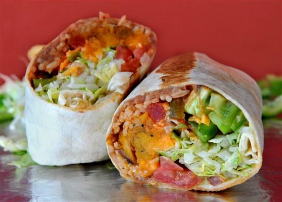 Yam Burrito - Big Fat Burrito