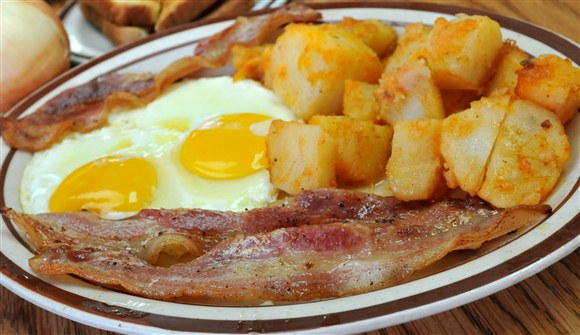 2 Eggs & Bacon - Vesta Lunch