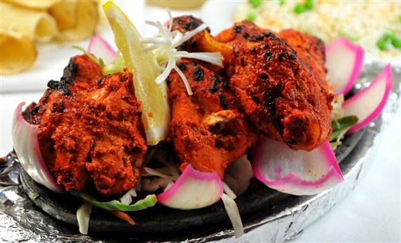 Tandoori chicken for Aroma fine indian cuisine