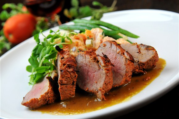 Grilled Pork Tenderloin - Fire on the East Side