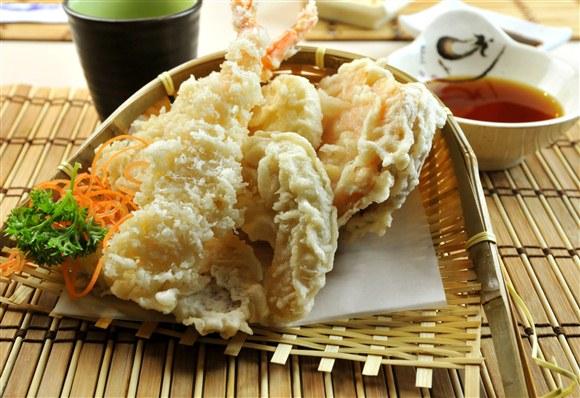 Shrimps & Vegetable Tempura - Aki Da Sushi