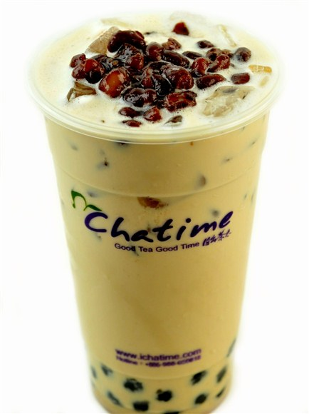 Chatime Red Bean Milk Tea - Chatime Toronto