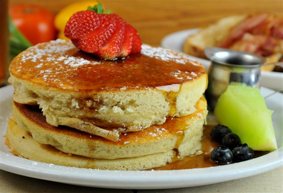 Buttermilk Pancake Stack - The Lakeview