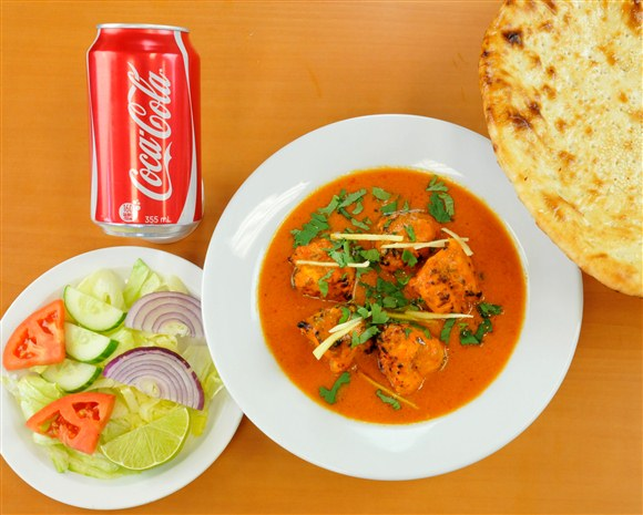 Butter Chicken & Naan Combo - Mehran Restaurant