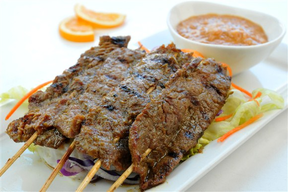 Satay Beef - Salad King