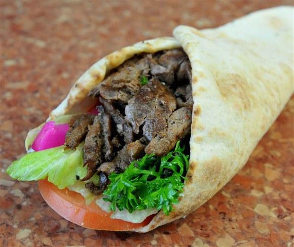 Beef Shawarma Roll Beef Shawarma $