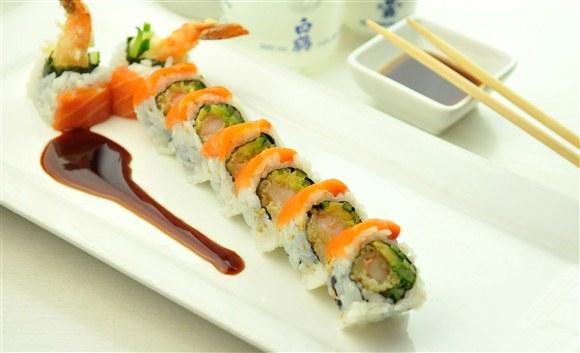 Gold Dragon Roll (8 Pcs)   Gold Zen Japanese U0026 Asian Dining