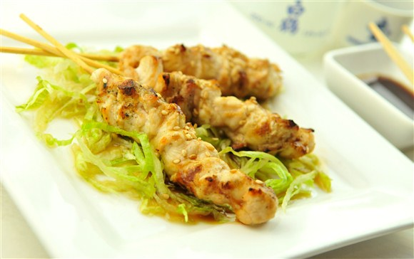 Chicken Skewers (3 pcs) - Gold Zen Japanese & Asian Dining