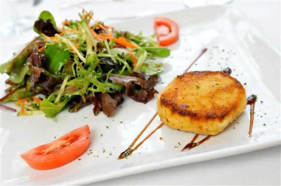 salade de chevre chaud - Le Trou Normand