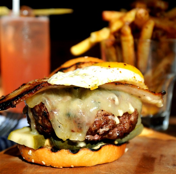 6oz County Burger - The County General