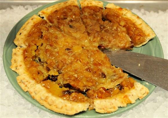Nut and Raisin Pie - Commensal Fine Flexitarian Cuisine