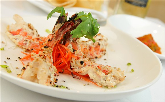 Black Tiger Jumbo Shrimps - 259 Host