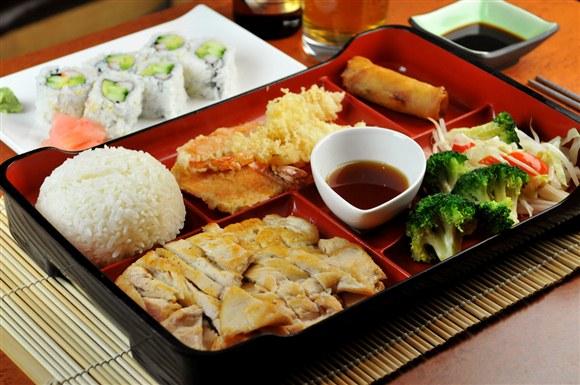 Chicken White Meat Bento Box - Sushi Rock