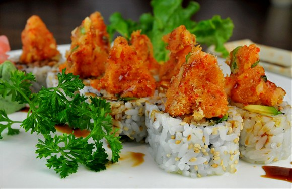 Volcano Roll - Sushi Gen