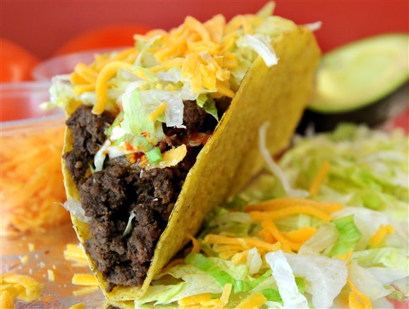 Ground Beef Taco - Big Fat Burrito