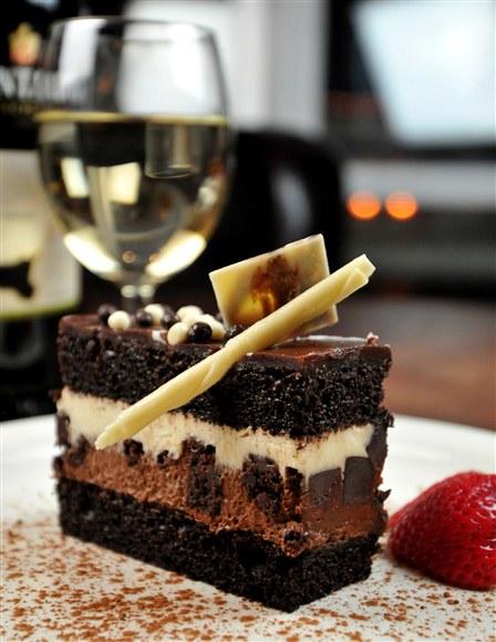 Triple Chocolate Mousse Cake - Porticello