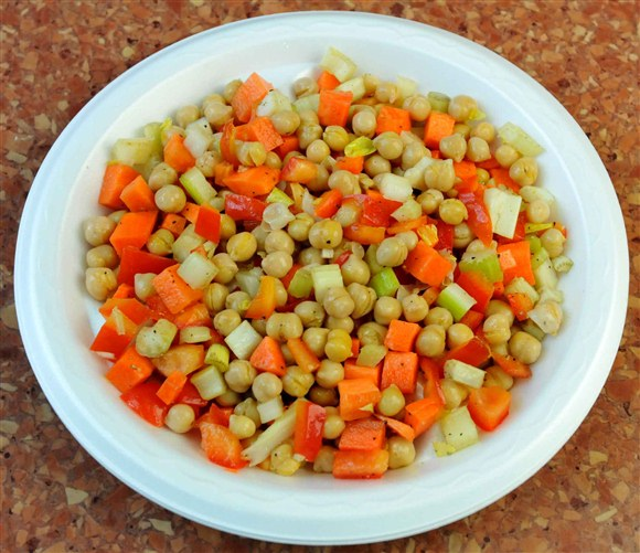 Large Chickpeas Salad - Ali Baba's