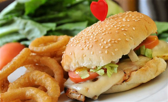Grilled Chicken Sandwich - K.O Burgers