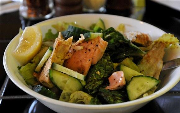 Warm Salmon Salad - Daddyo's Pasta
