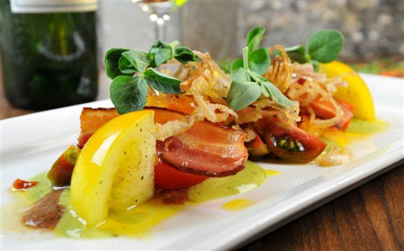 Bacon & Tomato Salad - Trevor Kitchen and Bar