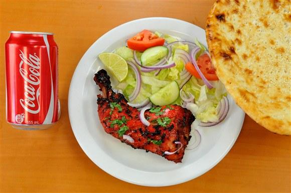 Tandoori Chicken & Naan Combo - Mehran Restaurant
