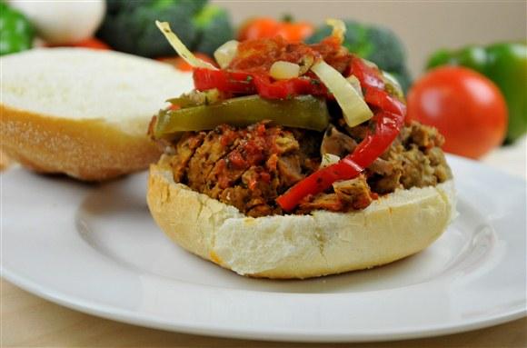 Meatball Burger - The Big Slice