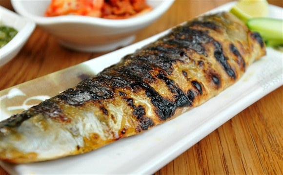 Godeunguh Gooy/ Broiled Mackerel Fish - Seor Ak San
