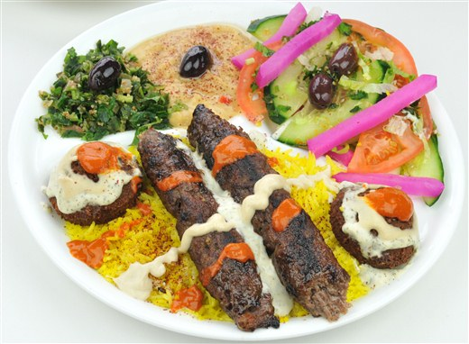 Shish Kabob Plate - Oaza Shawarma
