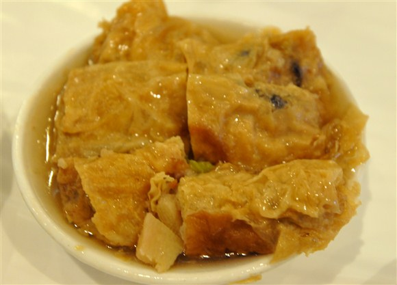 Steamed Bean Curd Roll with Pork