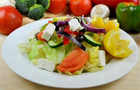 Greek Salad - The Big Slice