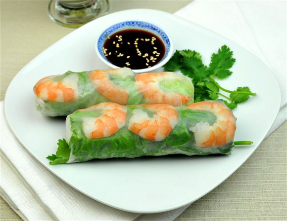 Rice Paper Roll with Shrimp - Pho Kim's Restaurant (Closed)