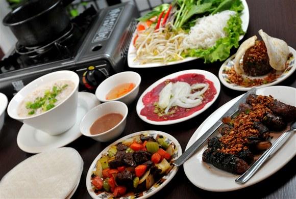 Bo 7 Mon/ 7 Course of Beef - Kim Bo Restaurant (CLOSED)