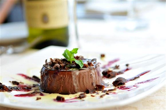 Chocolate Pana Cotta - Toula