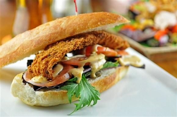 Fillet O'Sole Sandwich - Lou Dawg's