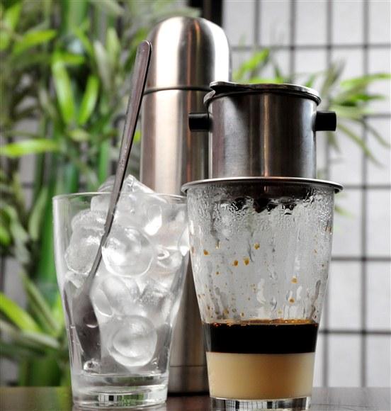 Vietnamese Iced Coffee - Kim Bo Restaurant (CLOSED)