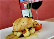 Stone Pressed Grilled Cornish Hen