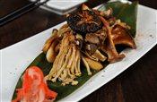 Shoyu-Mirin Glazed Mixed Mushrooms