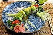 Green Dragon Roll (8 pcs.)