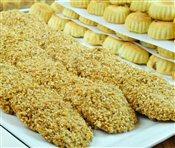 Barazek (Sesame Cookies)