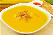 Butternut Squash with Asian Pear Soup
