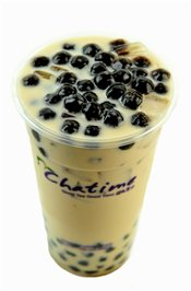 Chatime Pearl Milk Tea   $4.20