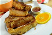 Citrus Spiked French Toast (Brunch)