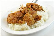 Spicy Pork Chop on Rice - Lunch & Late Night Menu